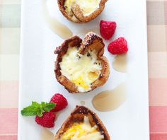 Croque Madame French Toast Cups (By Willow Bird Baking)