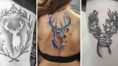 Stag Tattoo Designs Featured Image