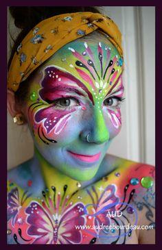 Audrée Bourdeau AUD Artist / face paint
