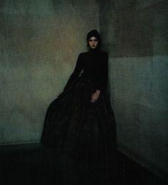Vogue Italia Sept 1998 - Lida Egorova by Paolo Roversi.