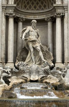 Fountain White on White Rome