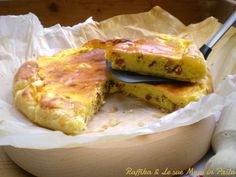 Torta salata robiola e speck