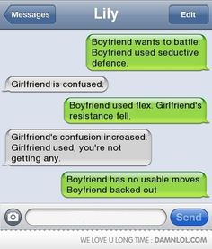 Epic Text Battle, no useable moves...