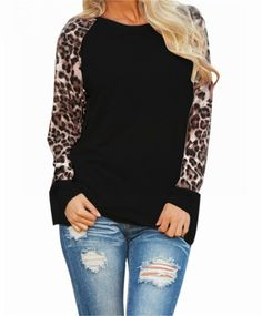 Walk in The Wild Leopard Top -Black also available in White – The Chic Find