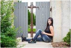 Urban senior photos in Longmont, Colorado.  Colorado senior photography by Plum Pretty Photography.