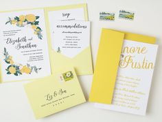 yellow-floral-weddin
