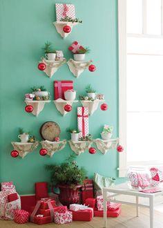 holiday wall tree