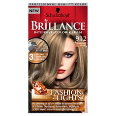 Schwarzkopf Brilliance Intensive-Color-Cream Fashion Lights 912 Sunkisse 1 pack