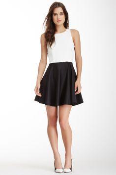 Skye Two-Tone Dress