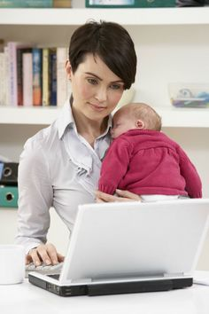 The 6 Best Jobs For New Moms Reentering The Workforce