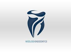 Brand identity redevelopment for a well established endodontics practice. The logo is a stylistic representation of the molar.