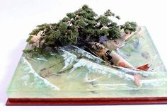 1/72nd Scale - Imperial Japanese Naval AF - Mitsubishi A6M Zero - Crash Lands in the Surf