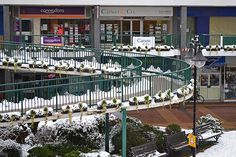 Ramp To The Upper level in Charles Square - Bracknell