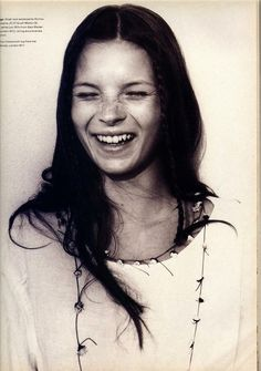 Young Kate Moss 1988