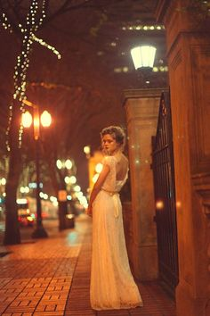 Take A Moonlit Stroll With Sarah Seven's Latest Lookbook #refinery29 #bride