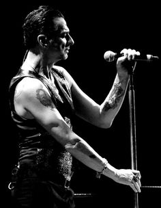 Dave Gahan of Depeche Mode Delta Machine Tour