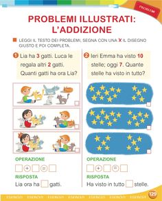 Matita e gomma 1 - Matematica Kids And Parenting, Worksheets, Education, Learning, School, Michelangelo, Geography, Autism, Psicologia