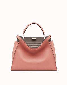 d7328dcaaaa5 Fendi PEEKABOO ESSENTIAL Pink Leather