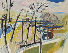 MAX GUBLER (1898-1973), Vorfrühling, 1956, Öl auf Leinwand, 130 x 162 cm