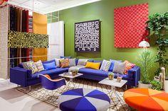 Exhibition: Alexander Girard: An Uncommon Vision Alexander Girard, George Nelson, Interior Architecture, Interior And Exterior, Interior Design, Room Interior, Herman Miller, Santa Fe, Eames