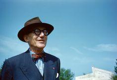 Le Corbusier, 1959 by René Burri
