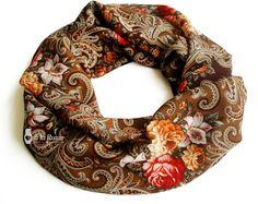 ♥ Schal à la Russe aus Pawlower Posad  ♥ russian scarf