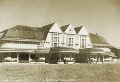 Da Lat 1948 Hanoi, Vietnam History, French History, Indochine, How To Speak French, Architecture, Colonial, Mansions, House Styles