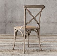 Madeleine Rattan Side Chair Cafe Chairs, Dining Chairs, Restoration Hardware Table, Solid Oak, Rattan, Sweet Home, Traditional, Side Chair, Furniture