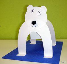 Great craft for 'Polar Bear, Polar Bear what do you see??'