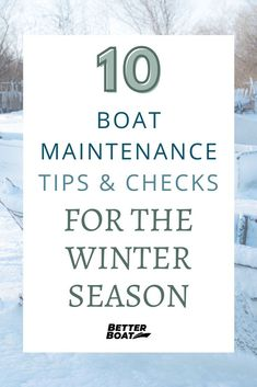 Preparing your boat for the Winter should be a top priority for boat owners this season. Having the best boat maintenance can make sure your boat has a long life and is ready for your many trips and travel. With these 10 best boat maintenance tips and checks for the winter season you can use the best boating hacks to get supplies and DIY your boat maintenance today! #boattips #onthewater #boathacks