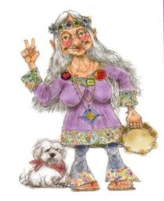 Old hippies rule bless our grandparents who paved the way Art Hippie, Hippie Peace, Happy Hippie, Hippie Love, Hippie Chick, Hippie Style, Hippy Art, Old Folks, Old Women