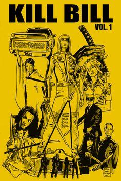 Kill Bill: Vol. 1 - movie poster - Nathan Milliner