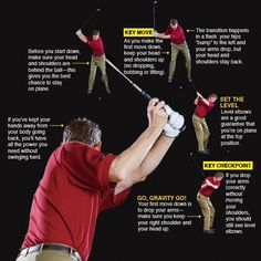 Build a Repeating Swing #golf Tips And Tricks, Golf Tips Driving, Golf Putting Tips, Golf Instruction, Golf Tips For Beginners, Perfect Golf, Golf Training, Golf Lessons, Golf Fashion