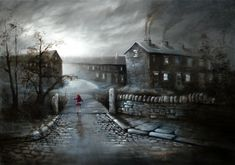 Bob Barker is a UK based artist, born and bred in Yorkshire. It's taken Bob Barker twenty years for his long time love of painting to evolve from a hobby to the point where interest in his work has taken on worldwide awareness. Oil Paint Set, Irish Painters, Urban Life, Watercolor Art, Nostalgia, Scenery, Images, Bob, Fine Art