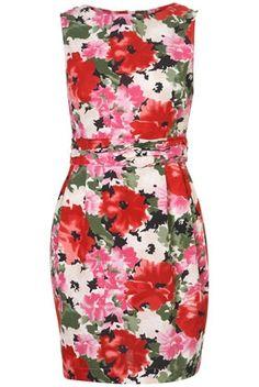 Betty Bloom Hourglass Dress - StyleSays