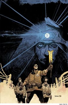 First Look: James Harren Joins Mike Mignola For 'B.P.R.D.: Abyss Of Time' - ComicsAlliance | Comic book culture, news, humor, commentary, and reviews
