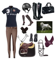 """""""Equestrian"""" by darklover02 ❤ liked on Polyvore featuring Smartwool, Arka, Hermès and NIKE"""