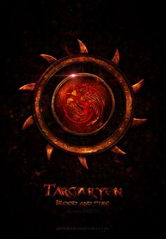 'Game of Thrones' House Icons by Jie Feng: House Targaryen.