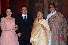 Amitabh, Jaya and Dharmendra Unveil Hema Malini's Album 'Dream Girl'