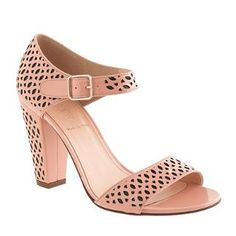 Vega patent perforated sandals - sandals - Women's shoes - J.Crew