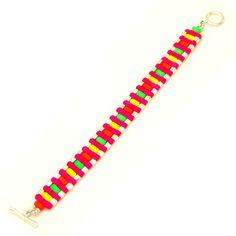 Pulsera con Rulla Beads.