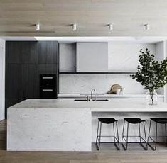 New Kitchen Island Scandinavian Benches Ideas - Kitchen - Best Kitchen Decor! Home Interior, Kitchen Interior, Kitchen Decor, Skandi Kitchen, Kitchen Ideas, Solid Wood Kitchens, Black Kitchens, Kitchen Black, Modern Kitchens