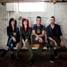 Skillet. Never thought I would be into a Christian metal band. Feels good