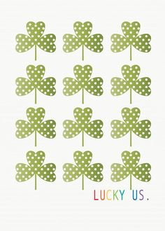 Landee See, Landee Do: Lucky Us Printable-- St. Patrick's Day