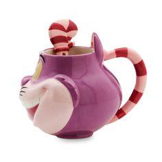 Disney Cheshire Cat Mug and Spoon Set Disney Coffee Mugs, Cat Coffee Mug, Cat Mug, Coffee Cups, Kitsch, Disney Cups, Disney Kitchen, Cool Mugs, Disney Home