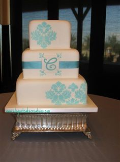 Cake 1 (change accent color to cobalt blue)