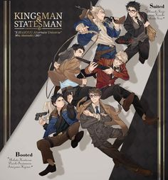 Haikyuu x kingsman au ❤ Which kingsman / statesman do you want to see next? ( ˙꒳˙ ) Pict by my sister ( ig : miu_akatsuki ) Haikyuu Tumblr, Haikyuu Funny, Haikyuu Fanart, Haikyuu Ships, Daisuga, Kagehina, Kuroken, Bokuaka, Iwaoi
