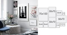 Guide how to make a beautiful and trendy art wall