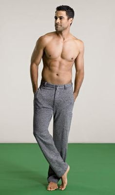 """""""Fashionable sweat pants? Not so sure..."""" <----- lol, what he said."""