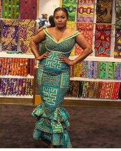 The African print is so flexible and exquisite, all you want is a creative fashion designer who can do wonders together with your Ankara dress. Ankara styles, #ankara #style #2018
